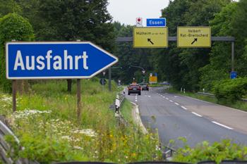 Autobahnsperrung A5