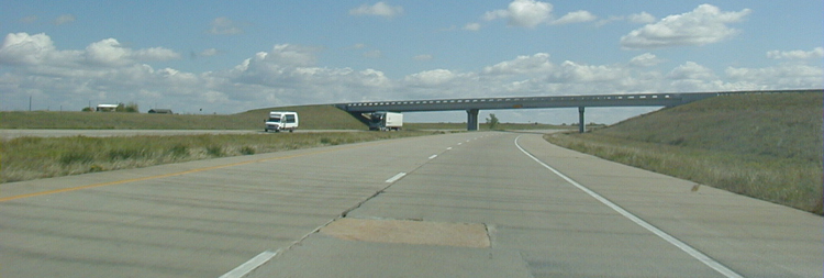 Interstate 40 in Texas USA Autobahn 13