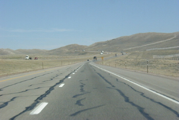 Interstate 80 in Utah USA Autobahn 82