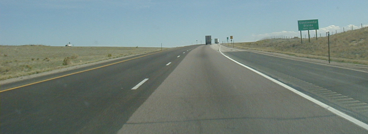 Interstate 80 in Utah USA Autobahn Kontinentalscheide Continatel Divide 77