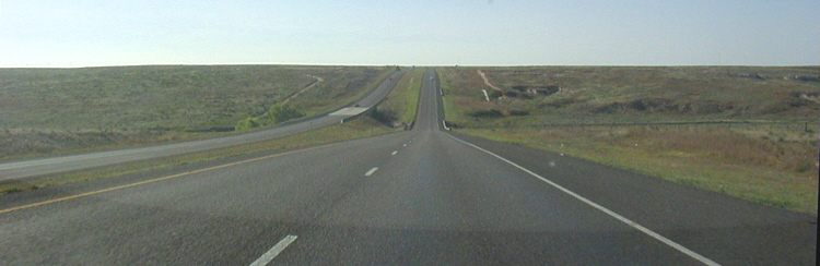 Interstate 40 in Texas USA Autobahn 04