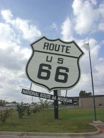 Route 66 US Highway in Oklahoma 27